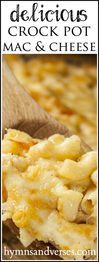 Delicious Crock Pot Mac and Cheese