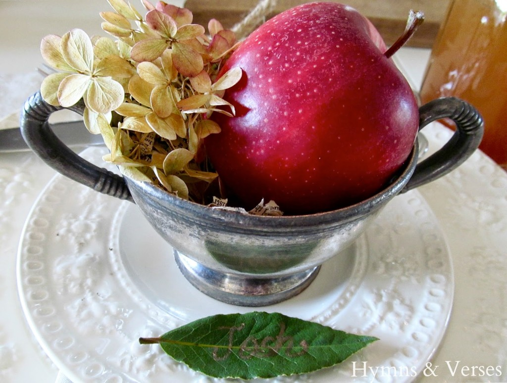 Fall Apple Harvest Tablescape