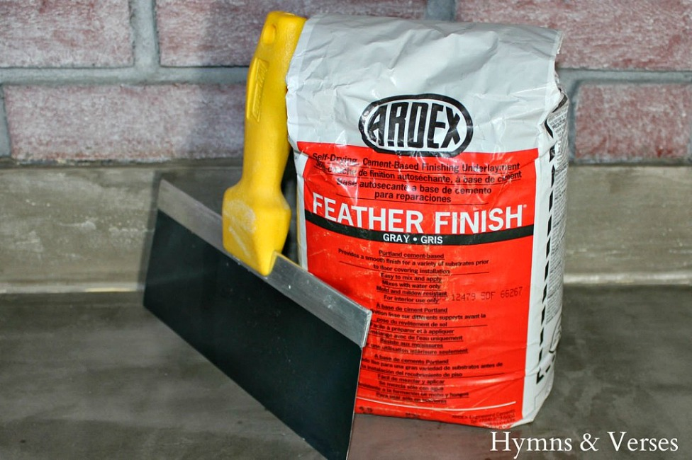 Ardex - DIY Concrete Countertop