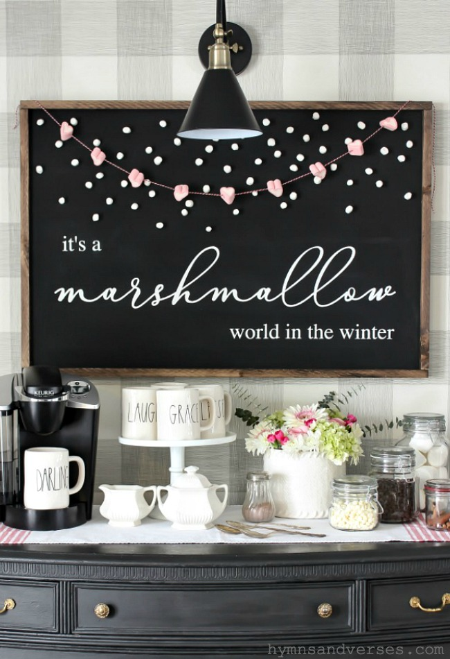 It's a Marshmallow World in the Winter Printable