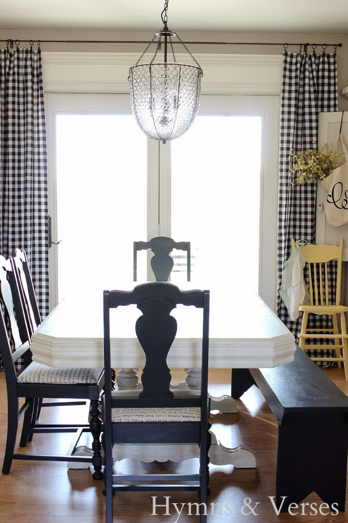 I Purchased The Largest Oblong Tablecloth For My Dining Room Door Curtains  (60 X 120u2033) And The Price U2013 $16.99! Now, These Are Not Real Curtains That  Can Be ...