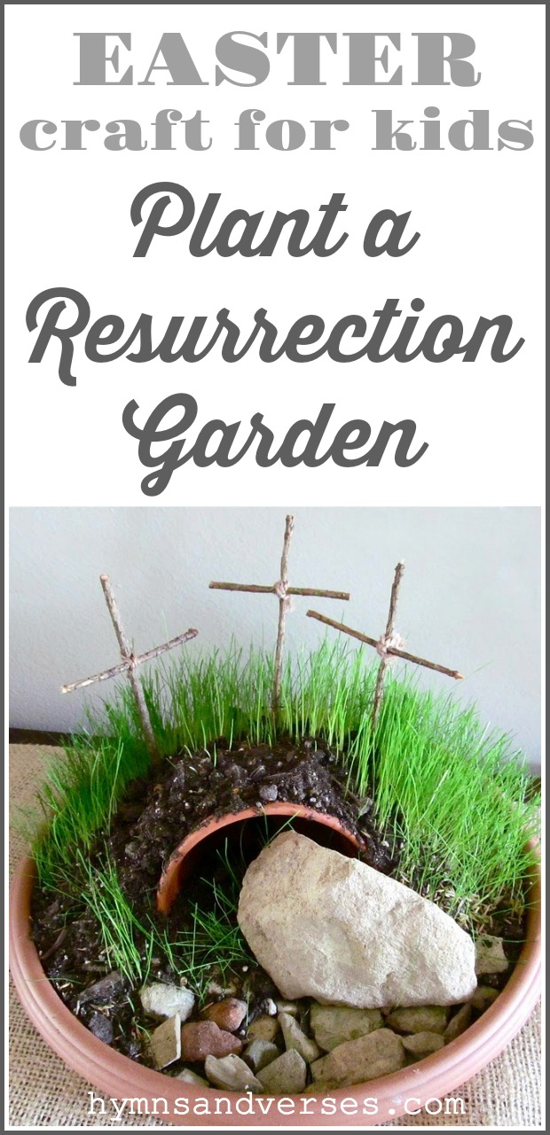 Plant a Resurrection Garden - Easter Craft
