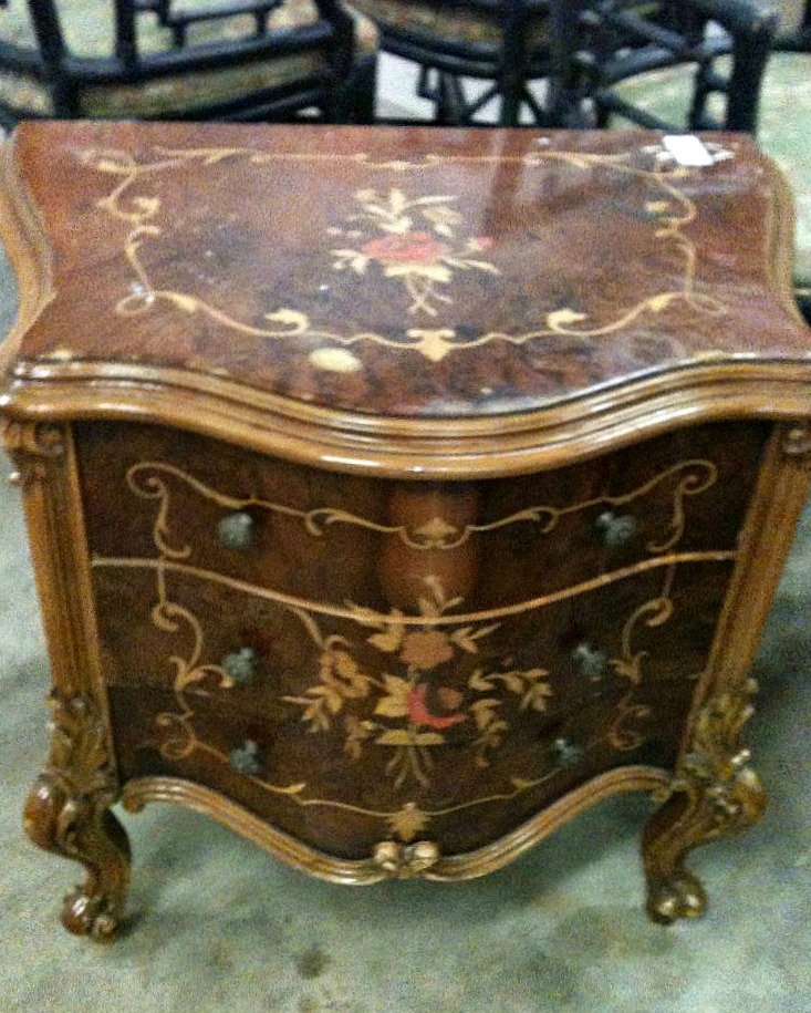 Old French Nightstand at Auction