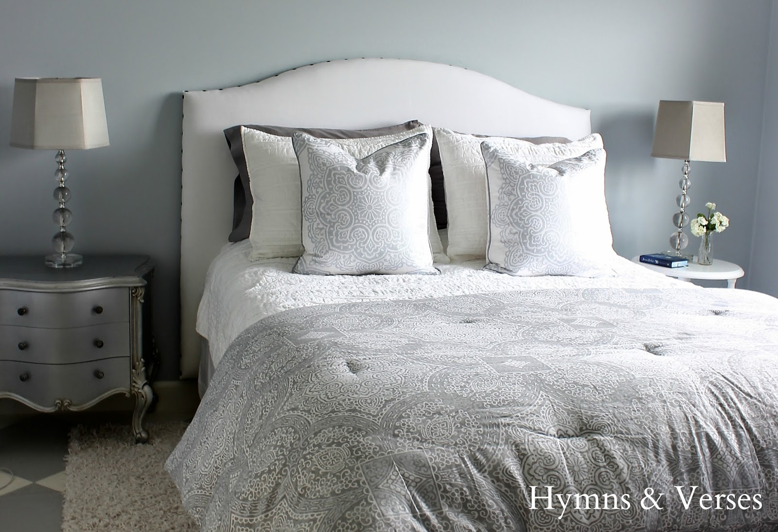 Diy Upholstered Headboard Tutorial Hymns And Verses