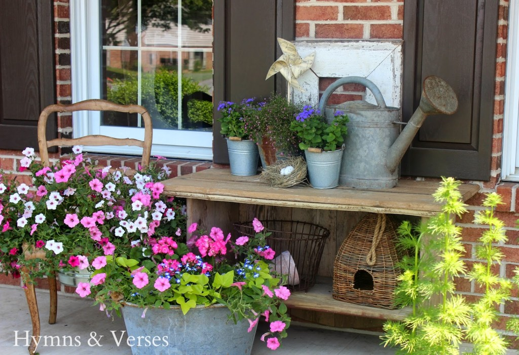 French Country Front Porch Hymns And Verses