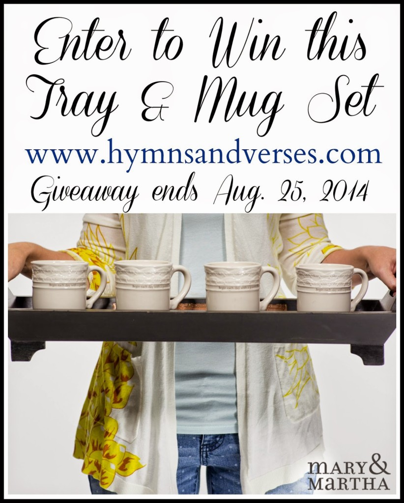 Mary and Martha Giveaway Graphic