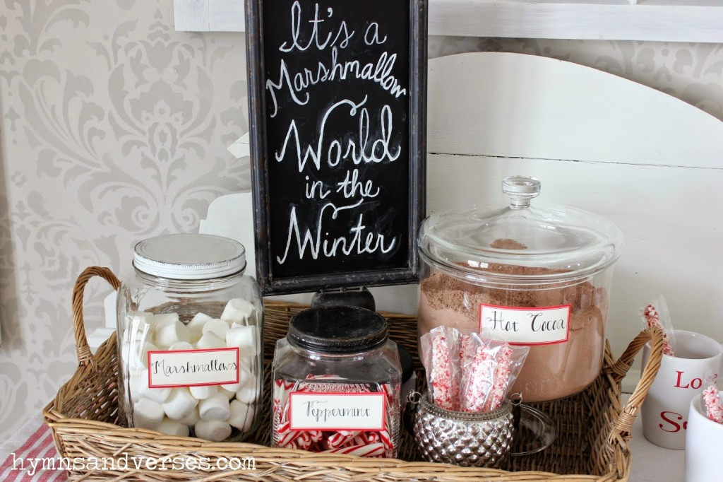 Love Sweet Love - Valentine's Day Hot Cocoa Station