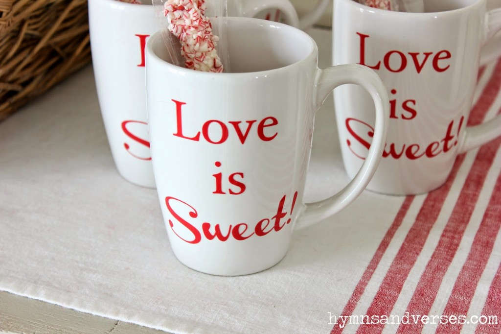 Love Sweet Love - Love is Sweet DIY Mugs