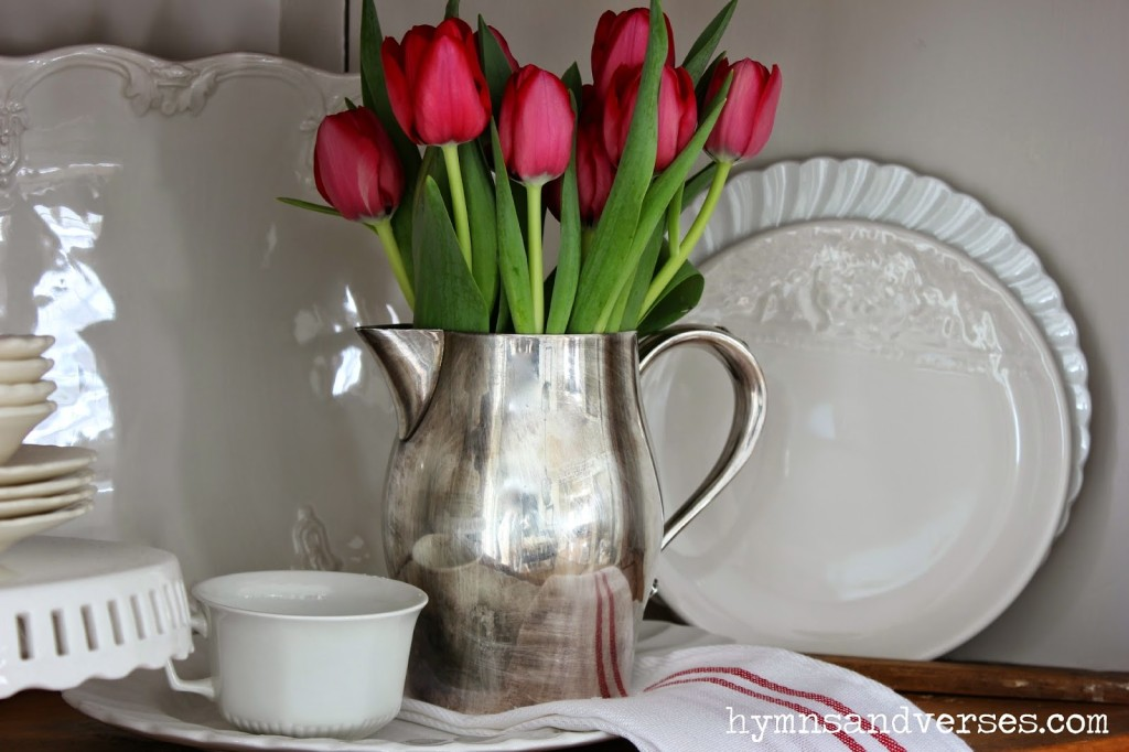 Red Tulips - Love Sweet Love Valentine's Day Decor