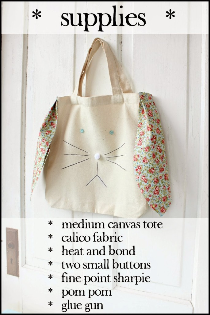 Supplies One Hour Bunny Tote