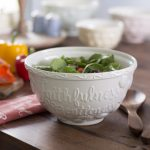 Shop My Home - Faithfulness and Gentleness Large Mixing Bowl