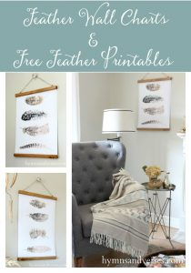 Feather Wall Charts & Free Feather Printables