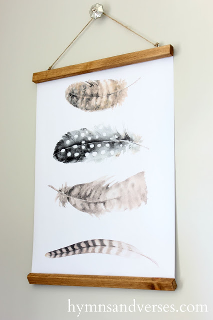 Free Feather Printable Wall Charts