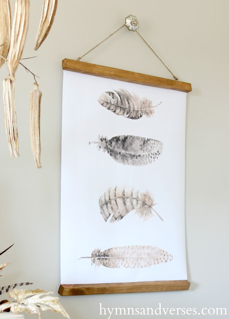 Feather Printable Wall Charts