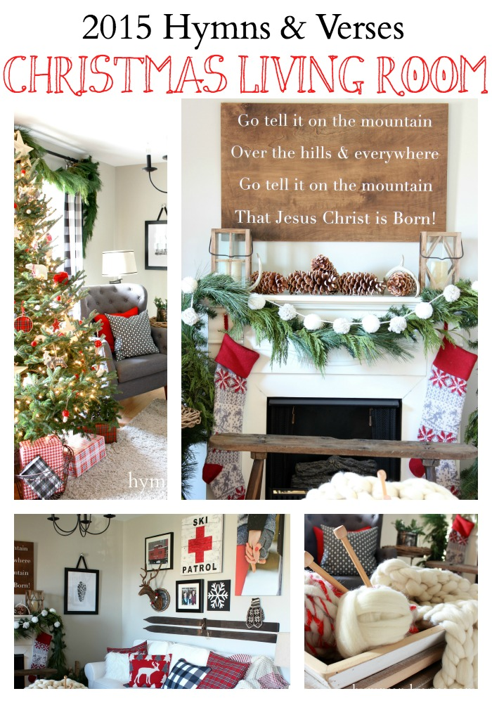 2015 Christmas Living Room