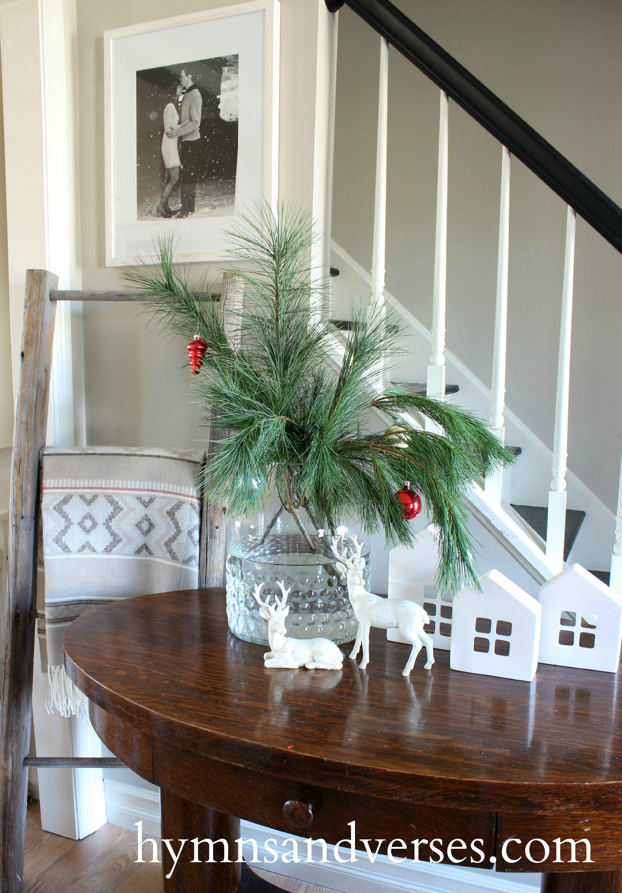 Christmas Pine Arrangement