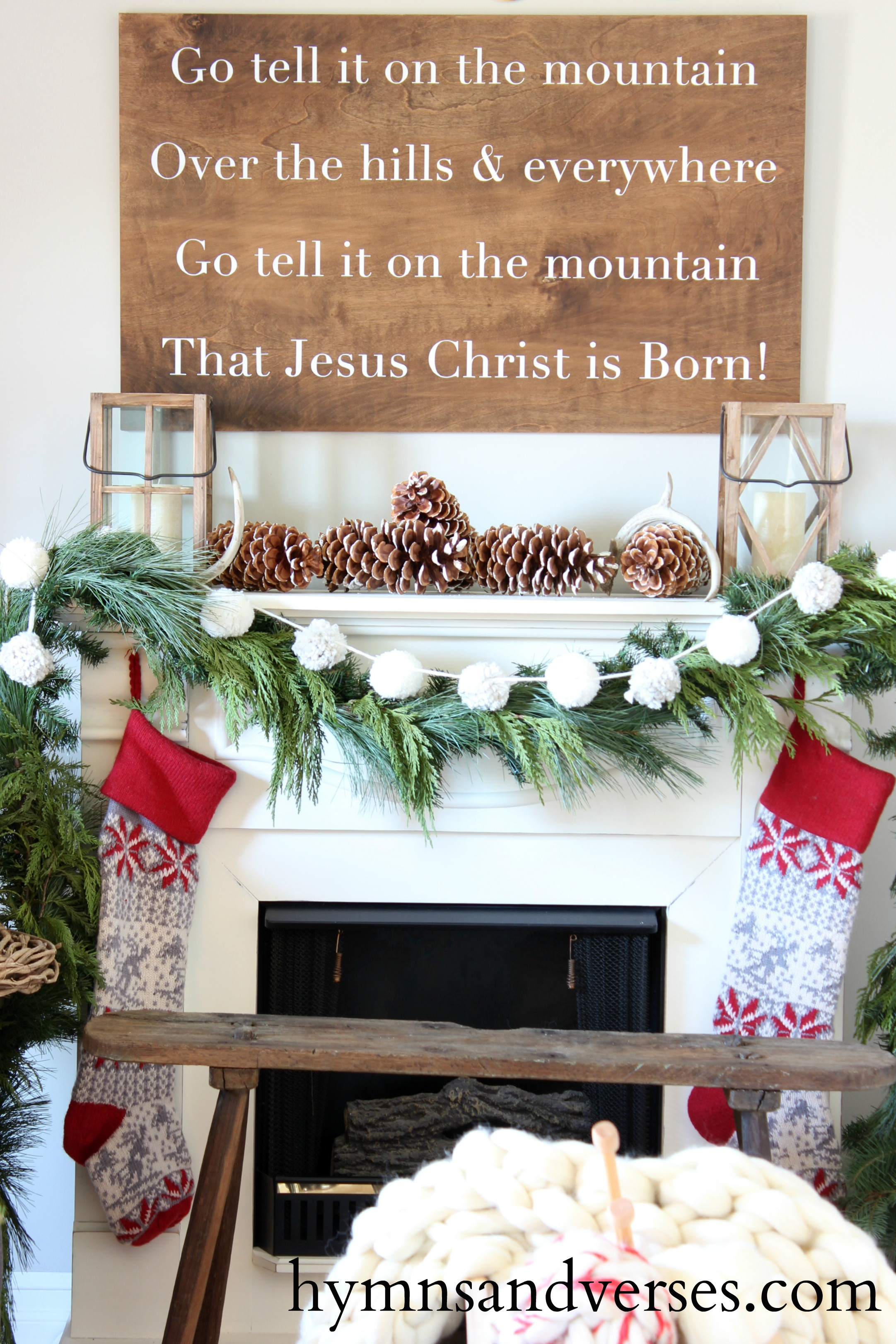 Go Tell it on the Mountain Mantel