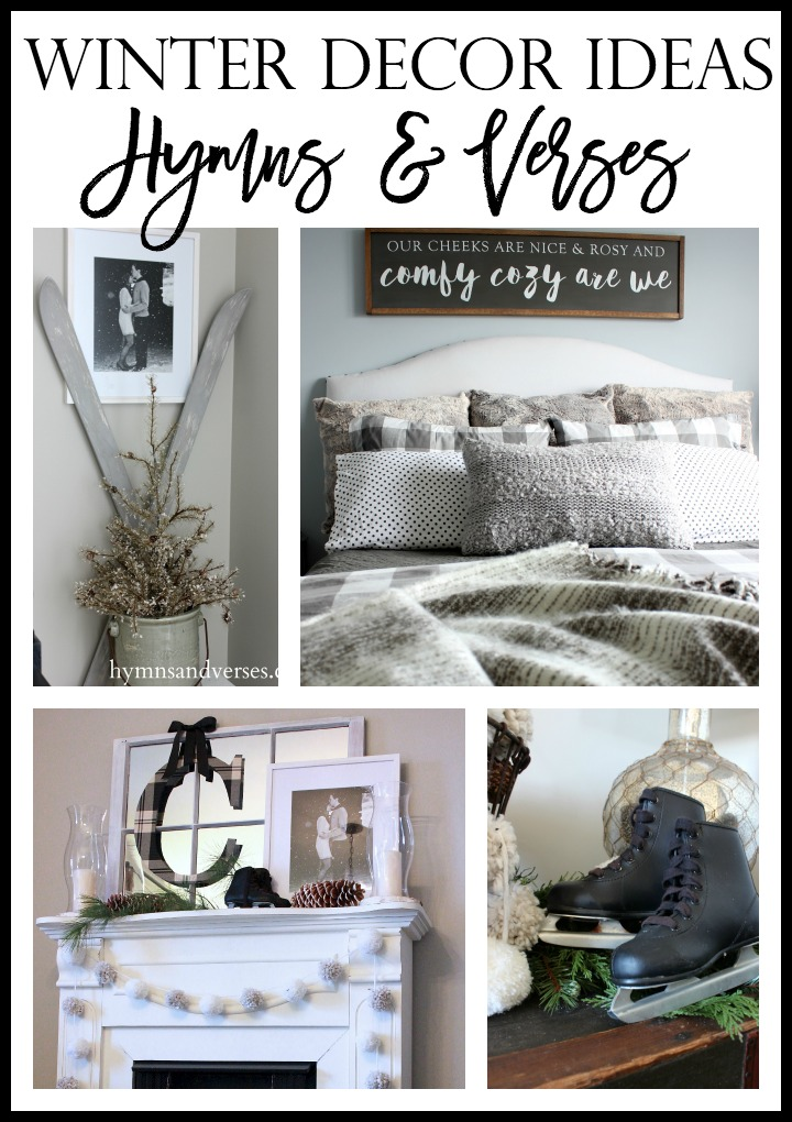 Winter Decor Ideas Hymns and Verses