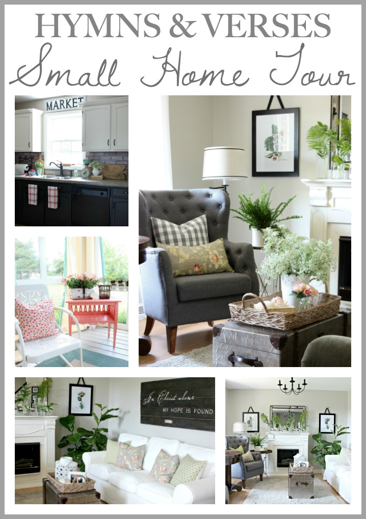 Small Home Tour Collage