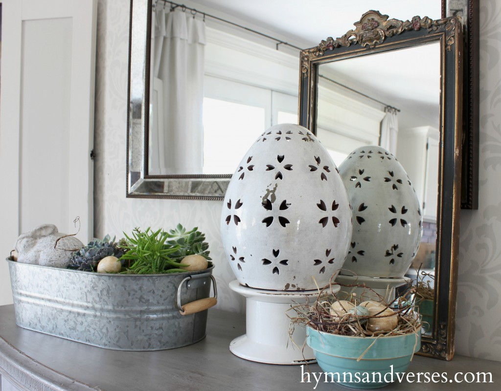 Buffet Details Spring Home Tour