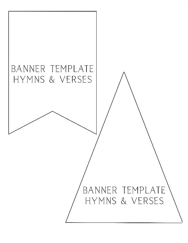 Fabric Banner Templates