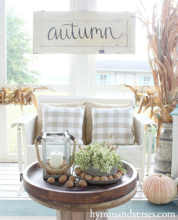 Autumn on the Porch