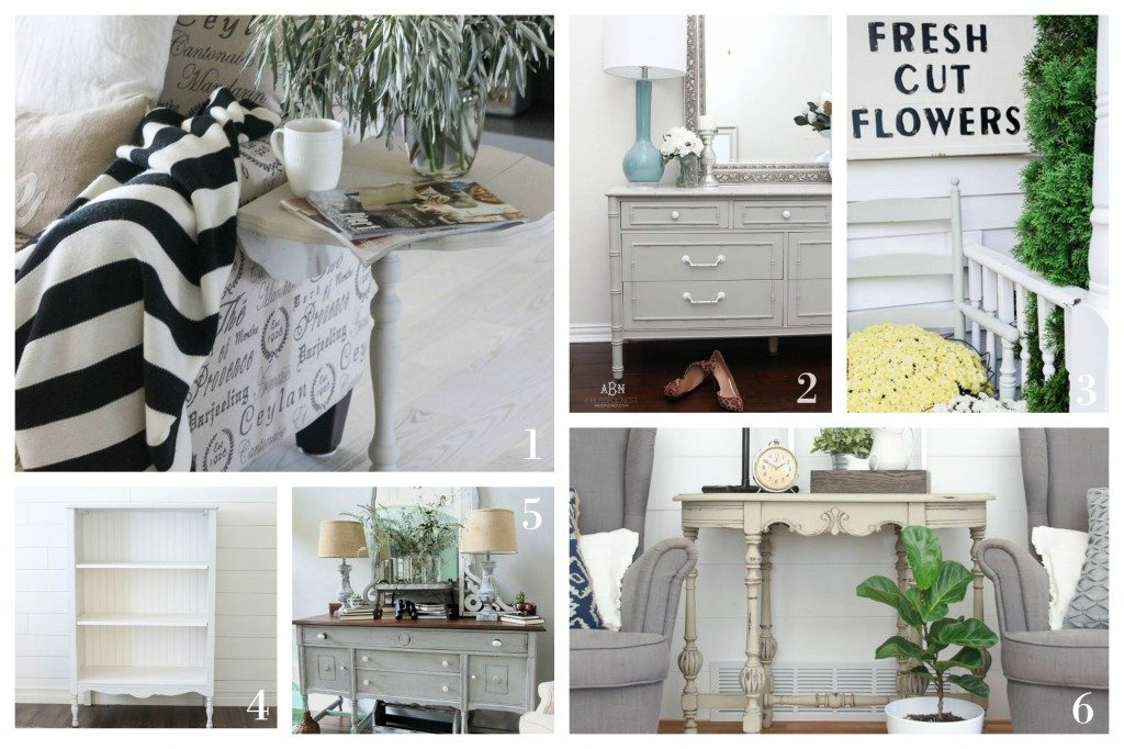 Trash to Treasure - Maison Blanche Furniture Paint
