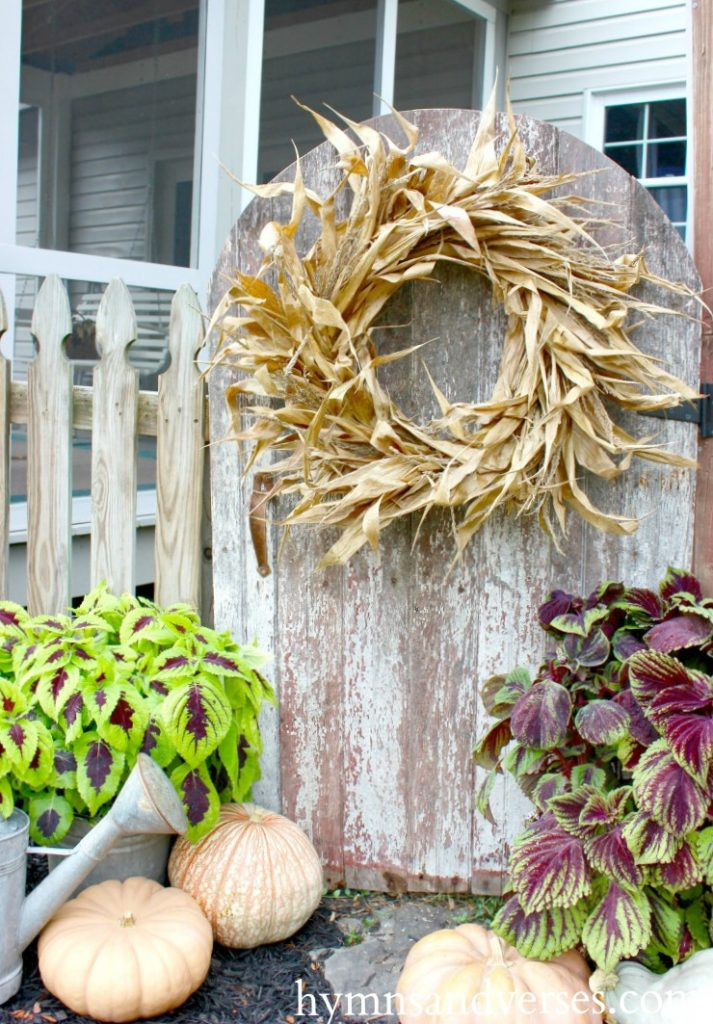 Real Corn Husk Wreath