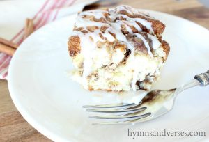 Melt in Your Mouth Cinnamon Roll Cake