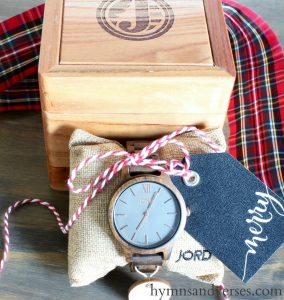 Gift for Guys – Jord Wood Watch