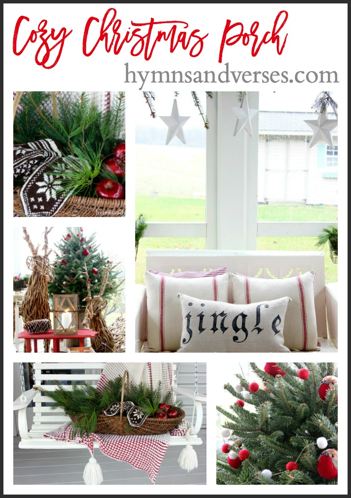 Cozy Christmas Porch