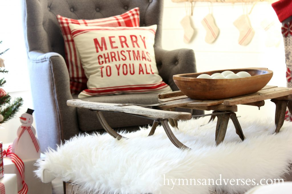 Vintage-Sled-Christmas-Hymns-and-Verses