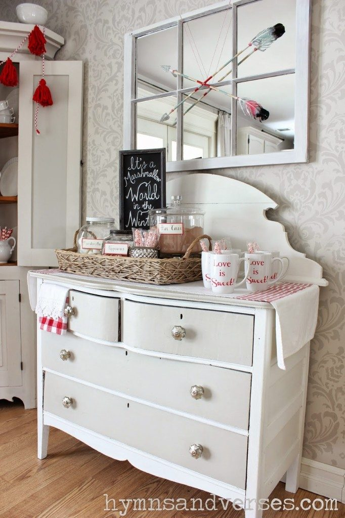Sweet Love Hot Cocoa Bar - Valentines Day Ideas