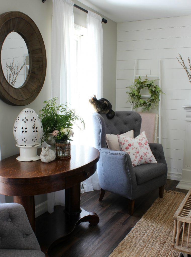 Cottage Style - Spring Living Room