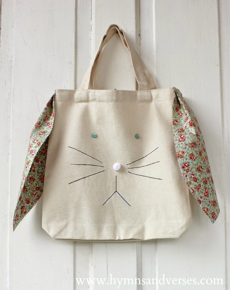 Top 10 Easter DIY Projects - Bunny Tote