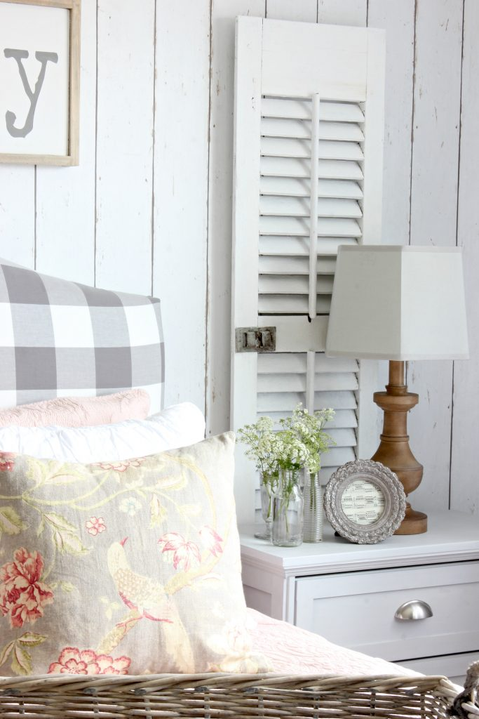 2017 Summer Home - Nightstand shutters