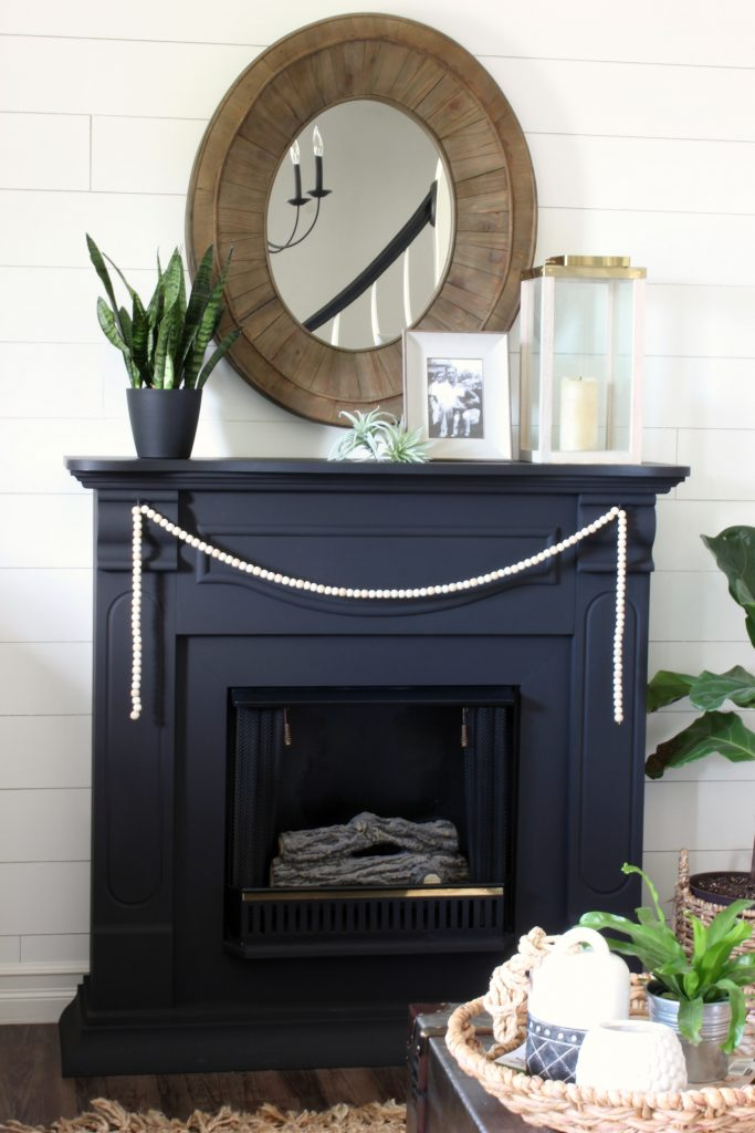 Color Change - Black Fireplace