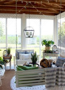 Back Porch - Macrame Curtains