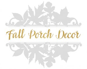 Hymns & Verses Fall Porch Decor