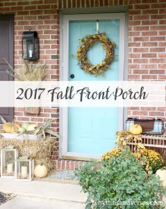 2017 Fall Home Tour - Front Porch