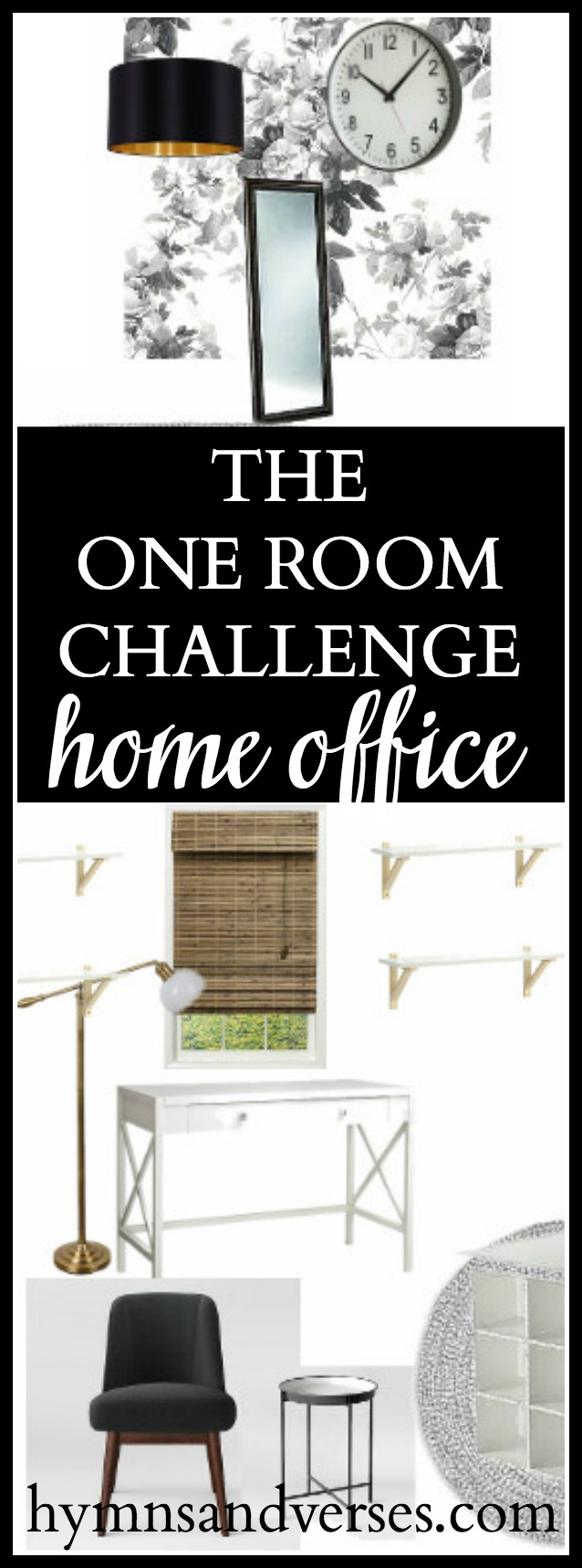 One room challenge home office hymns and verses for Bedroom hymns lyrics