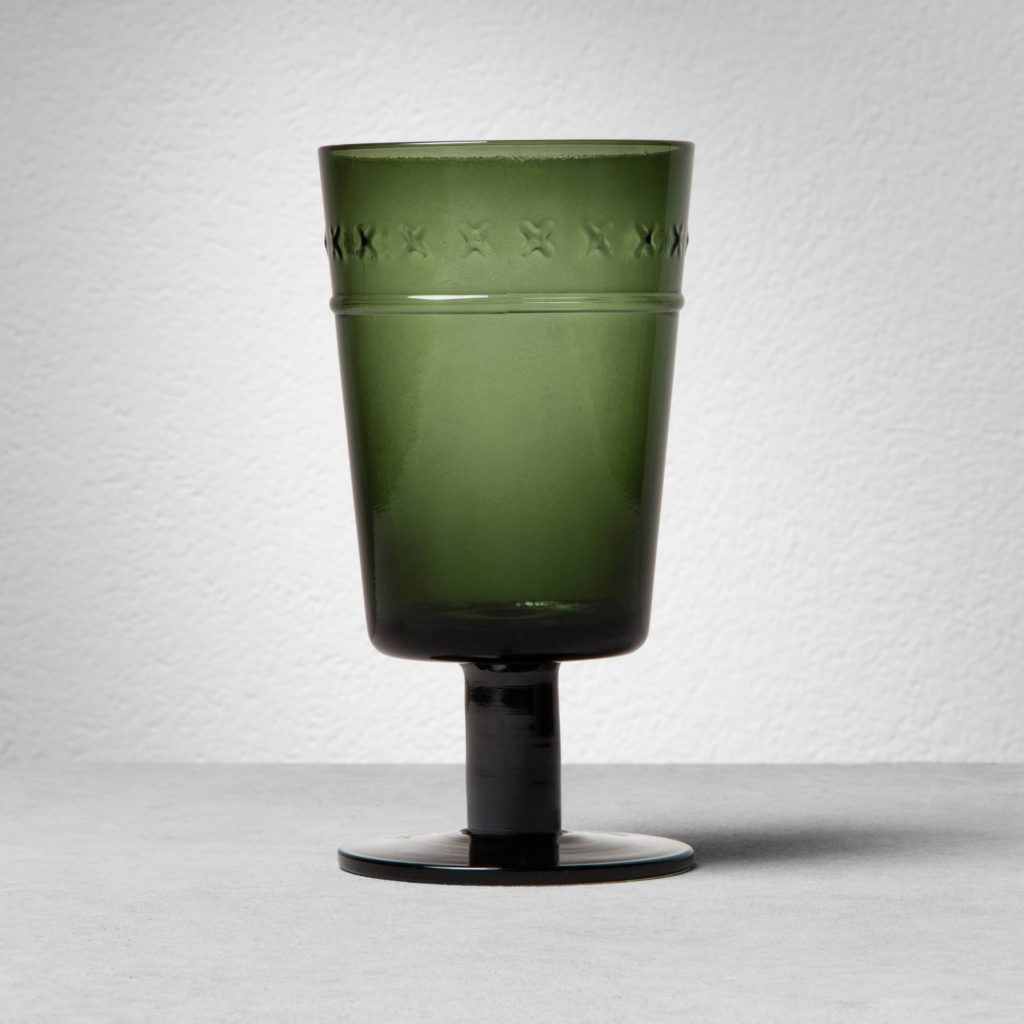 Favorite Things - Magnolia Hearth and Hand Green Goblet