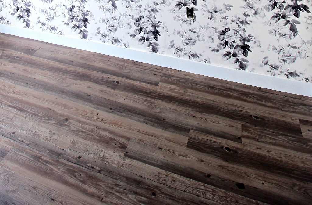 Home Office LVT Plank Floors