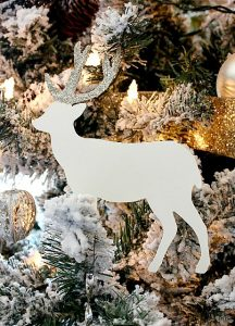 Deer Cutout Ornament