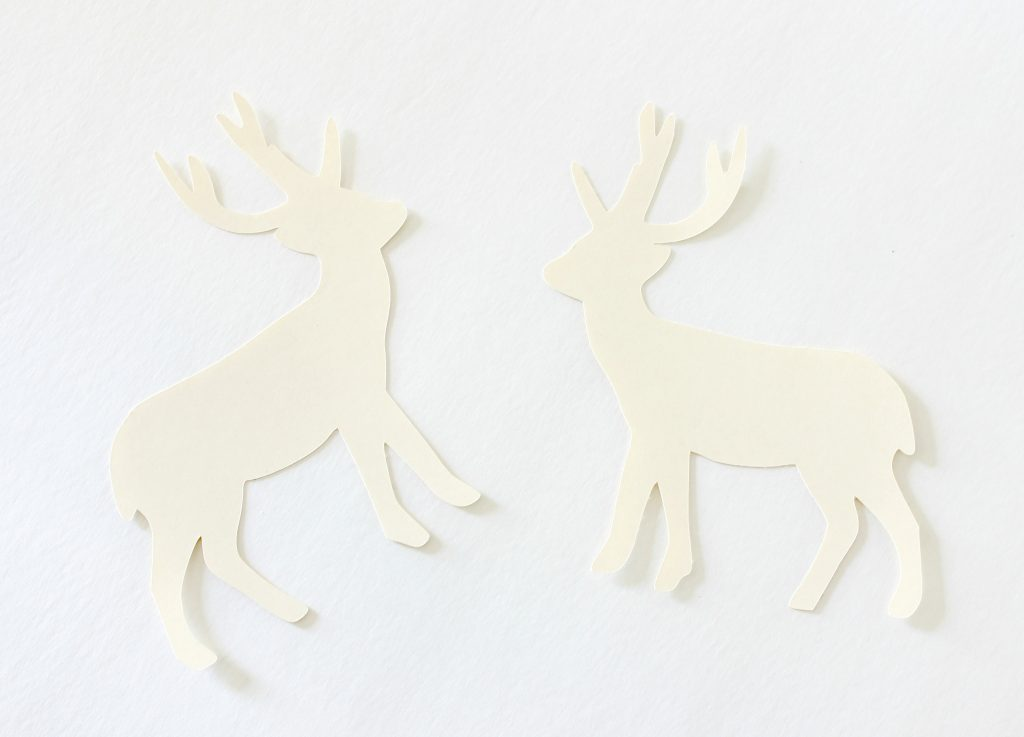 Deer Cutout Ornaments