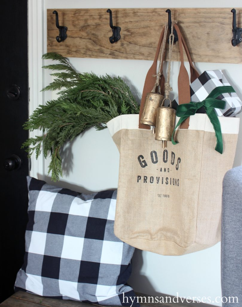 2017 Christmas Home Tour - Goods and Provisions Bag