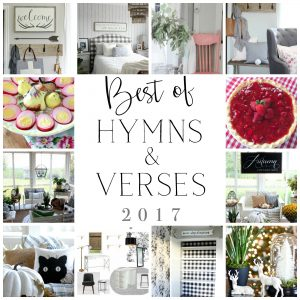 Best of 2017 Hymns and Verses Blog