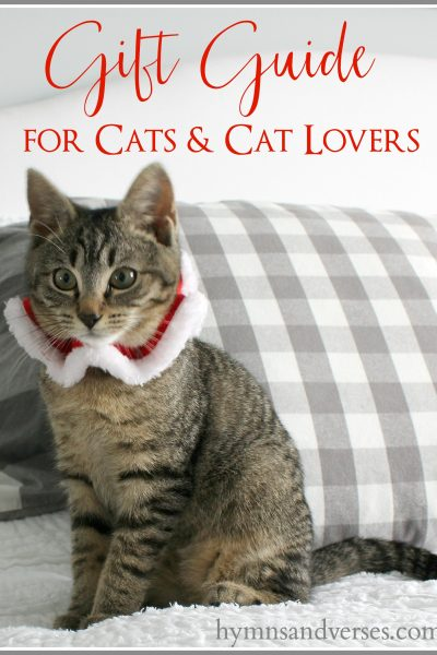 Gift Guide for Cats and Cat Lovers