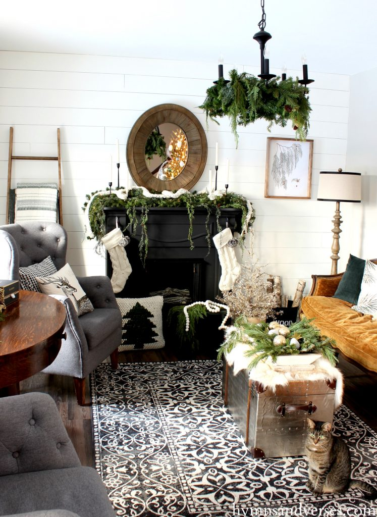 2017 Christmas Home Tour - Living Room