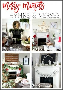Merry Mantels Hymns and Verses